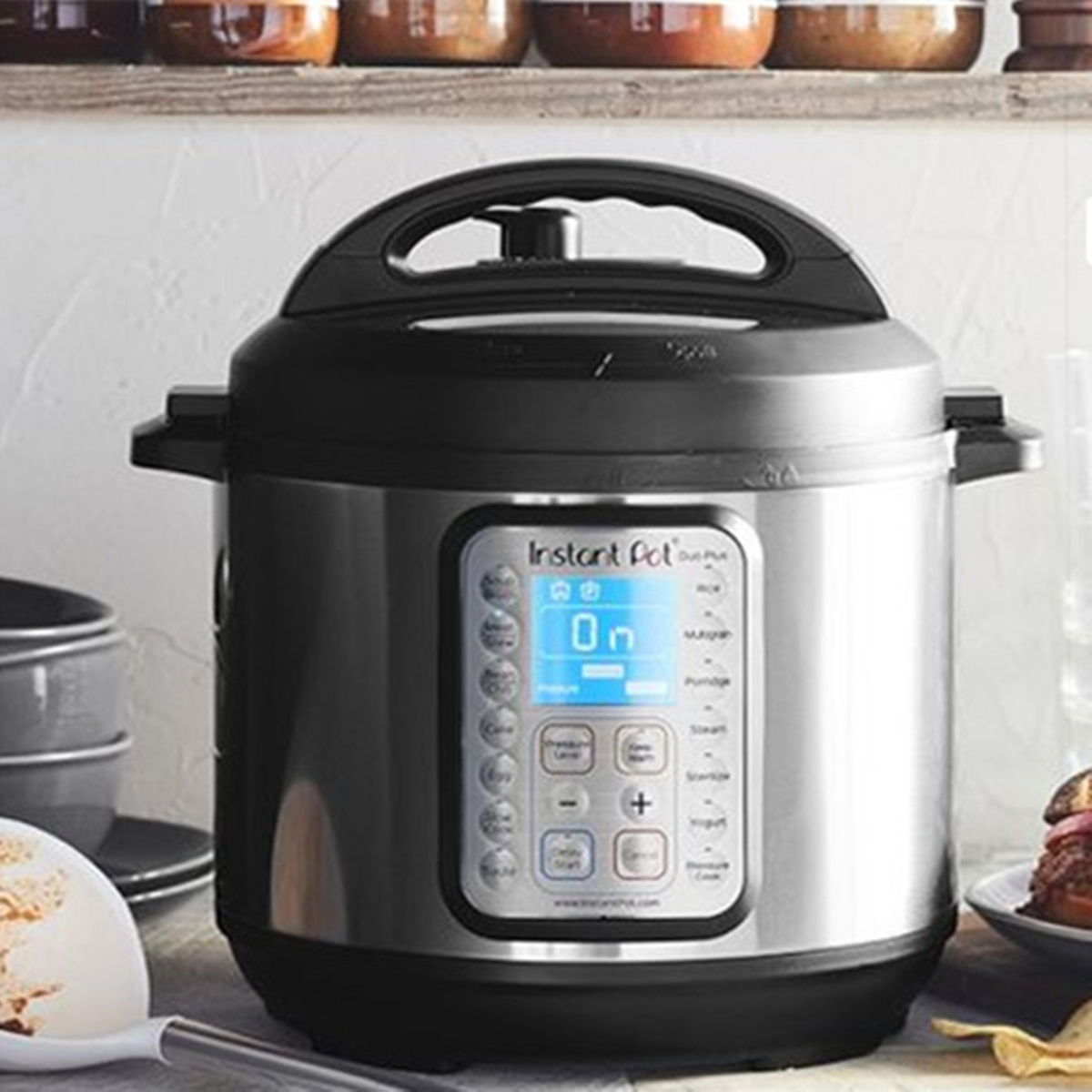304 Stainless Steel Steam Steamer with Handle For Instant Pot Rice Pressure Cooker