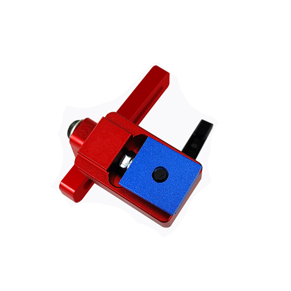 Machifit Aluminium Alloy 30 Type Miter Track Stop For 30mm T-track Woodworking Hand Tool