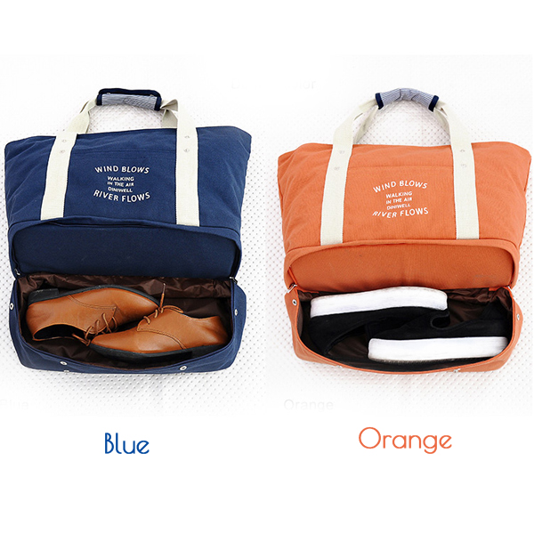 Travel Canvas Handbags Outdooors Sports Duffel Bags Multifunction Shoulderbags