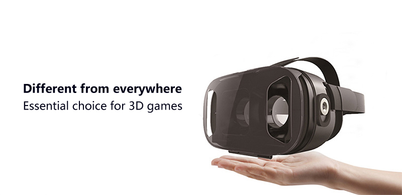 UPartner VR 2N Glasses 3D Virtual Reality VR Glasses For 3.5 to 6.0 Inches Smartphone