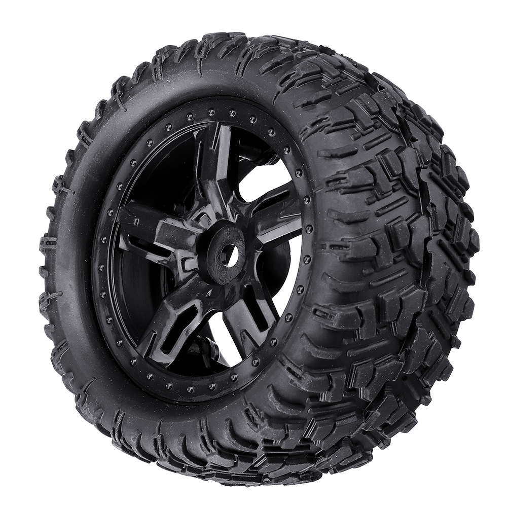 Remo P6973 Rubber RC Car Tires For 1621 1625 1631 1635 1651 1655 RC Vehicle Models - Photo: 9
