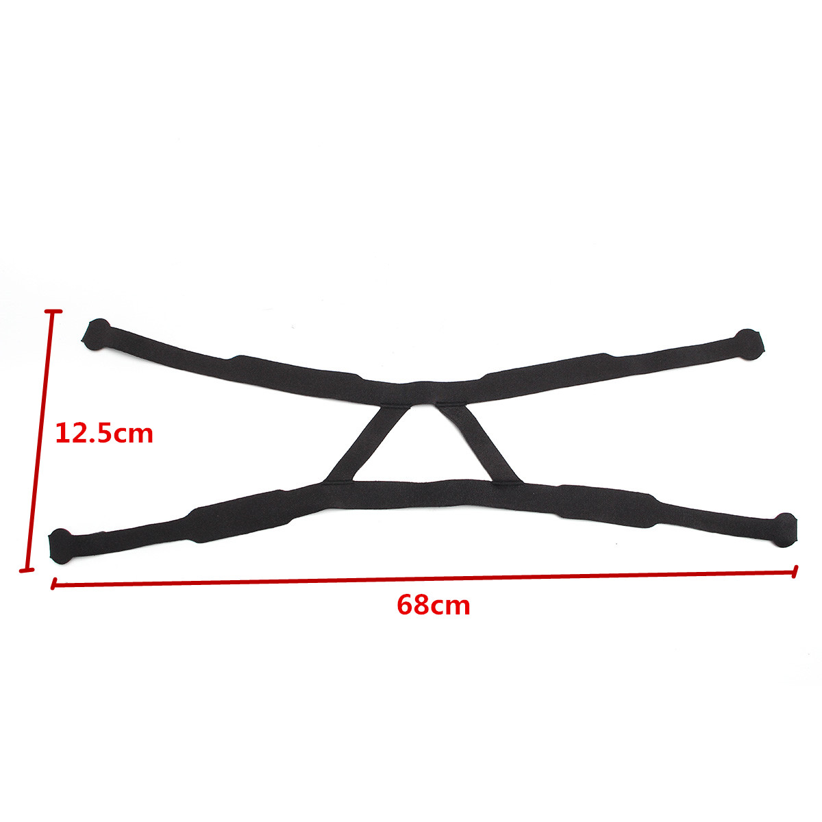 Universal Headgear Comfort Replacement Ventilator Part Anti-snore Head Band Without Mask