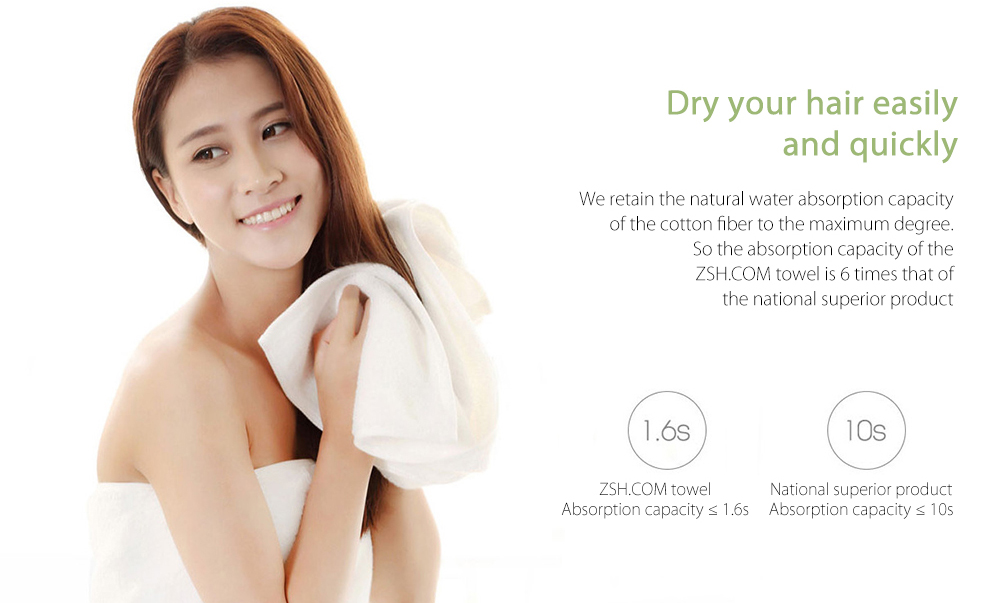 Xiaomi Youth Series Towel Microfiber Cotton Fabric Antibacterial Water Absorption Towels With Healthy Sealed Bag
