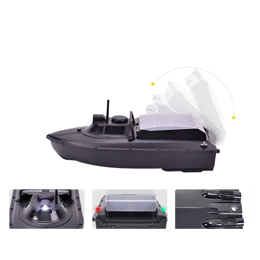 JABO-2AD 620mm 2.4G Fishing Bait Rc Boat GPS Navlgation W/ Double 380 Brushed Motor LED Light Toy