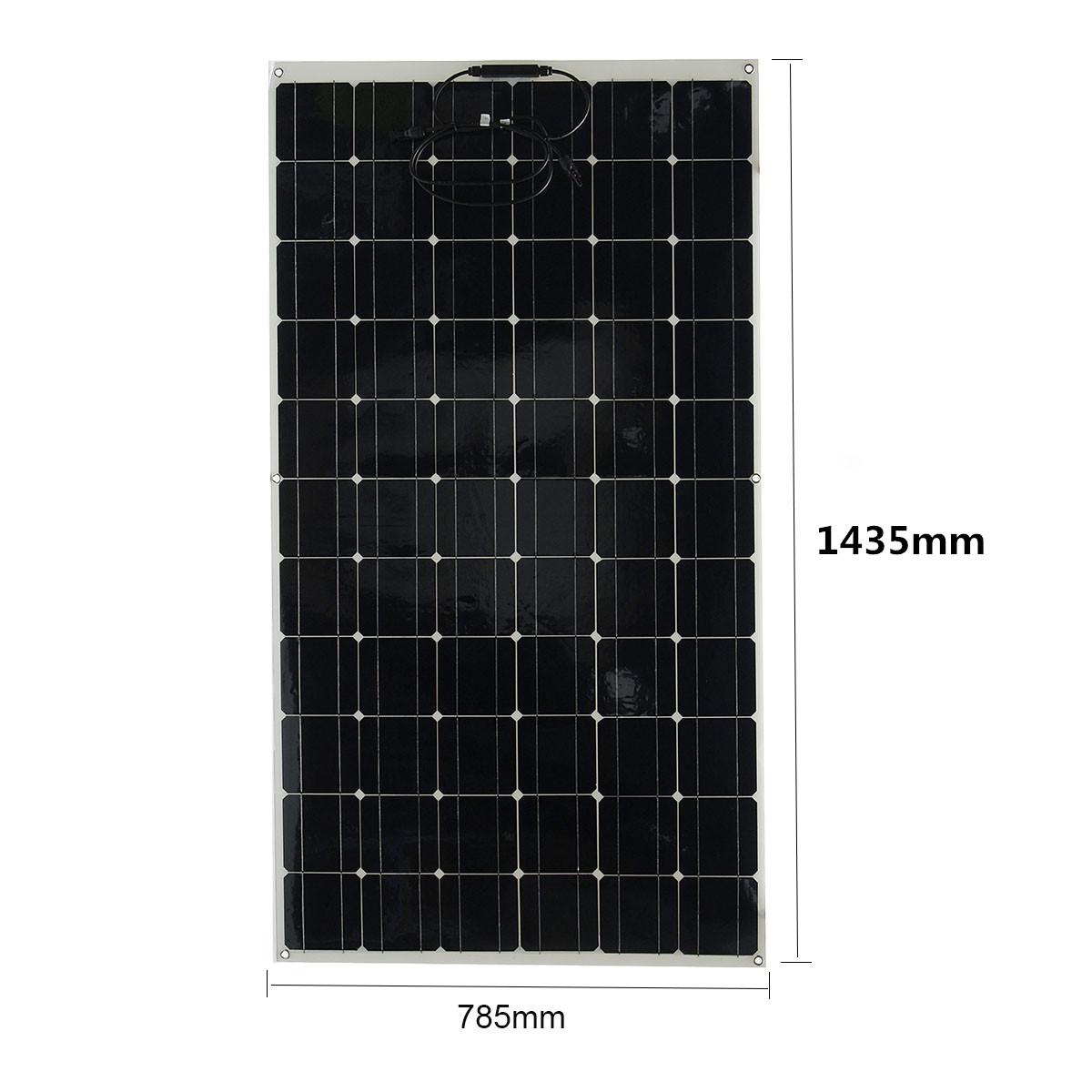 Elfeland EL-42 Mono Solar Panel 190W 33V Flexible Solar City Battery Charger For Home