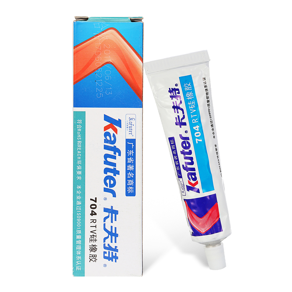 Kafuter K-704 RTV Silicone Rubber White Glue for RC Model