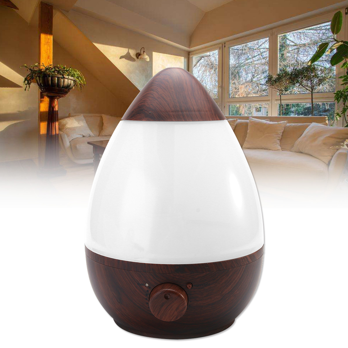 2.3L Air Humidifier Ultrasonic Aromatherapy Diffuser Ar