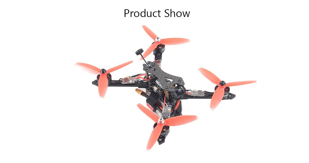 SKYSTARS STX225 DIY Version 225mm RC FPV Racing Drone PNP w/ F4 OSD 35A RGB LED 1200TVL 40CH 600mW VTX - Photo: 7
