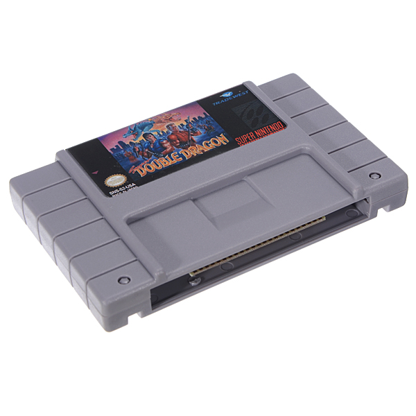 Super Double Dragon 16 Bit 46 Pin Game Cartridge Card for SFC SNES NTSC System
