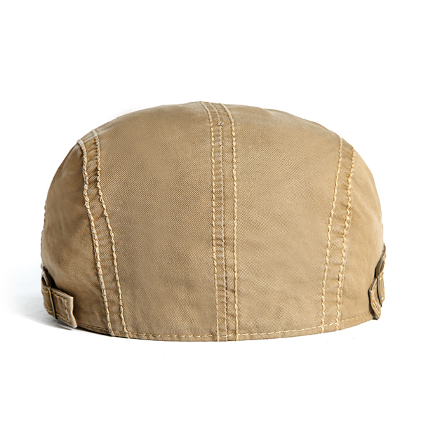 fc9f387fd83 casual outdoor cotton embroidery painter berets caps for men at Banggood
