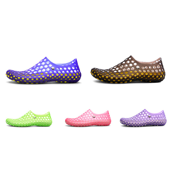 Large Size Casual Hollow Out Round Toe Shoes