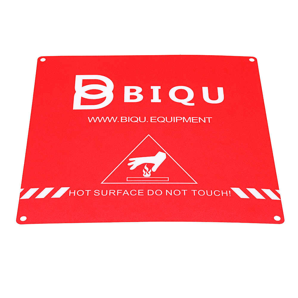 BIQU 220*220mm Red Scrub Heated Bed Sticker Build Plate Tape for 3D Printer
