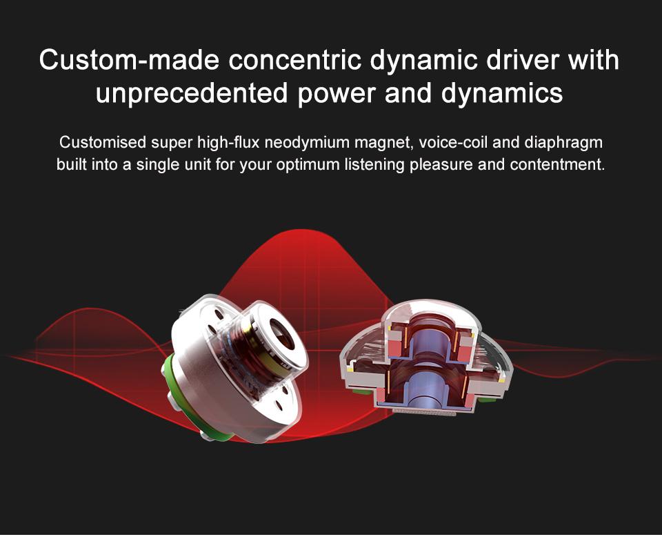 [8 Drivers] TRN V80 2BA+2DD Hybrid Headphone HiFi Dual Balanced Armature Dual Dynamic Bass Earphone