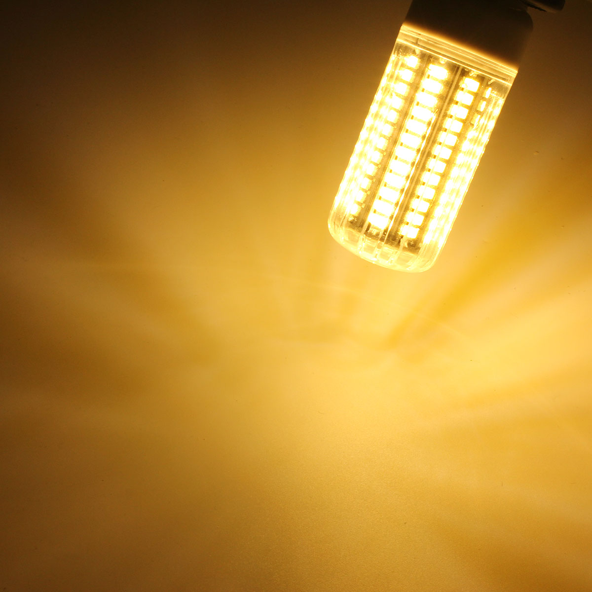 E14 E12 B22 GU10 G9 E27 LED 9W 105 SMD 5730 Warm White White Fire Cover Corn LED Bulb Light AC220V