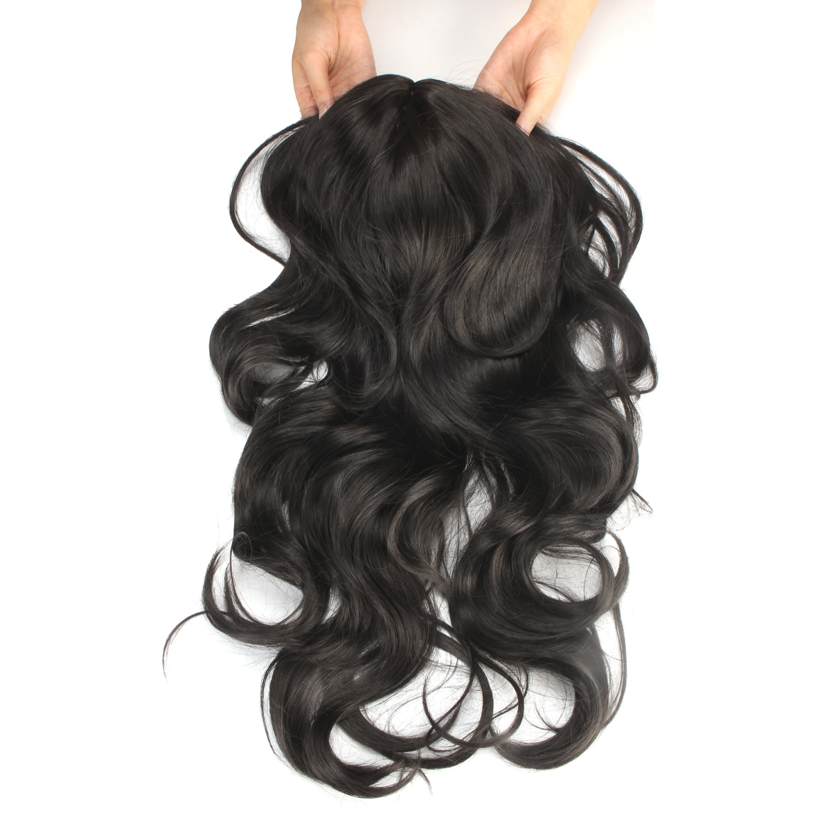 45cm Body Wave Curl Hair Wig Matt High Temperature Fiber