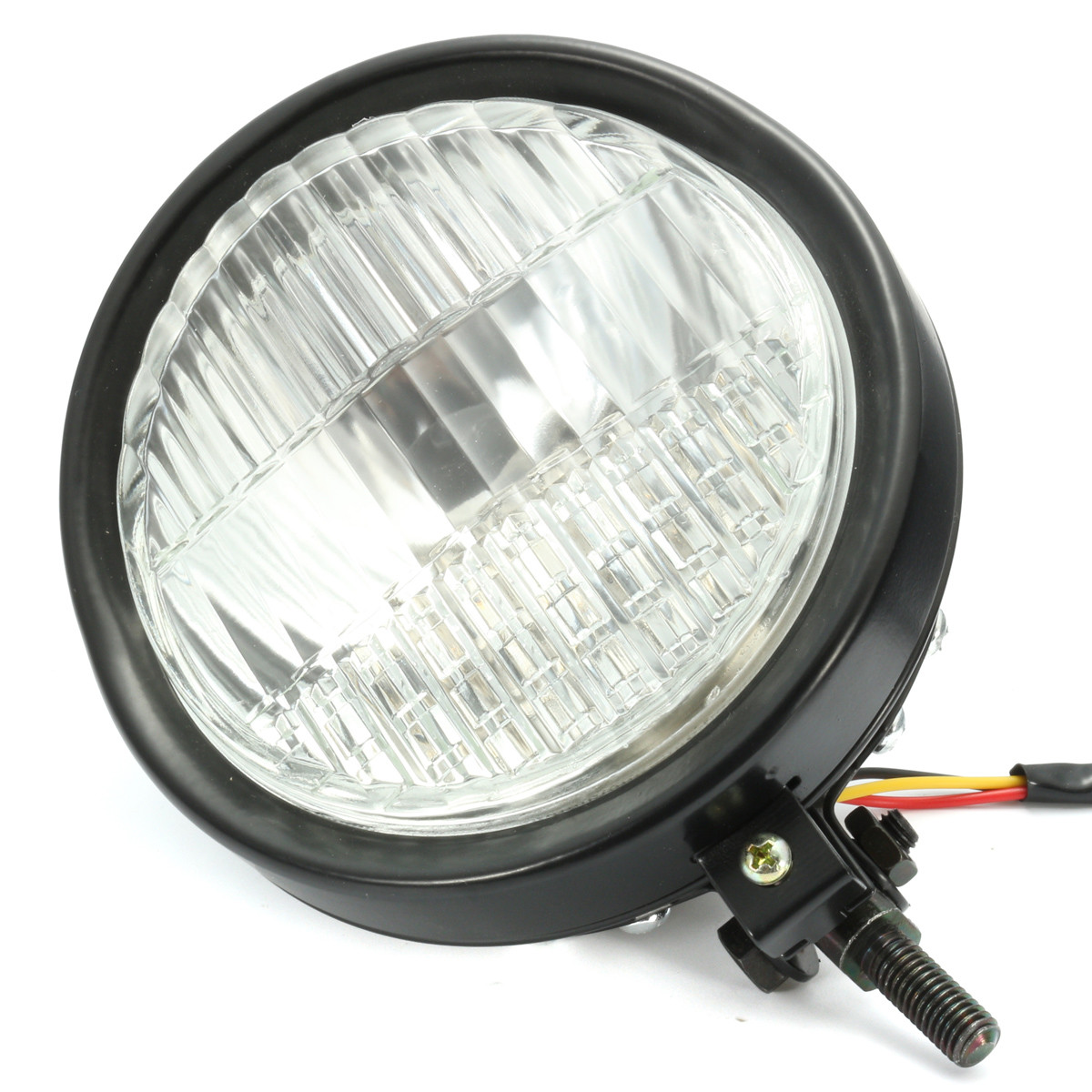 35W 5.75 inch Motorcycle Headlight Headlamp For Harley Bobber Chopper Touring