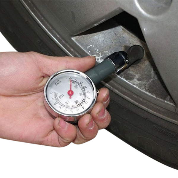 Car Dial Tire Gauge Meter Precision Pressure Tyre Measure Metal