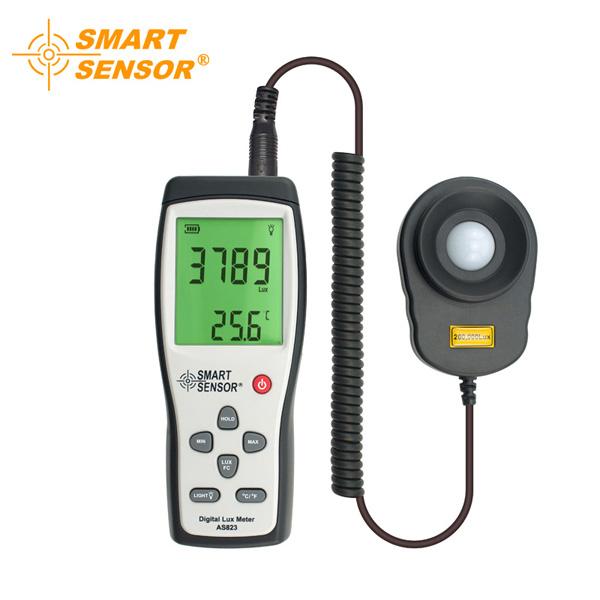 SMART SENSOR AR823 Digital illuminometer Brightness Det