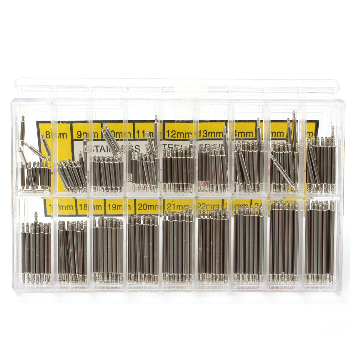 360pcs 8-25mm Watch Band Strap Link Pin Spring Bars Remover Removal Repair Tools