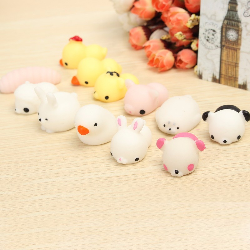 Seal Squishy Squeeze Cute Healing Toy Kawaii Collection Stress Reliever Gift Decor