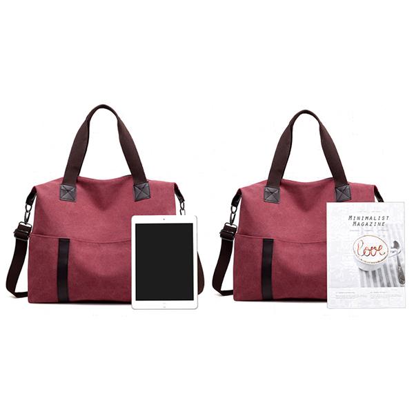 Women Canvas Casual Large Capacity Handbag