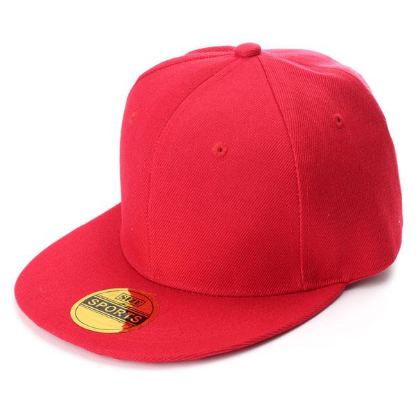 Women Retro Vintage Plain Snap Back Hats Flat Peak Caps Funky Cool Baseball Hat