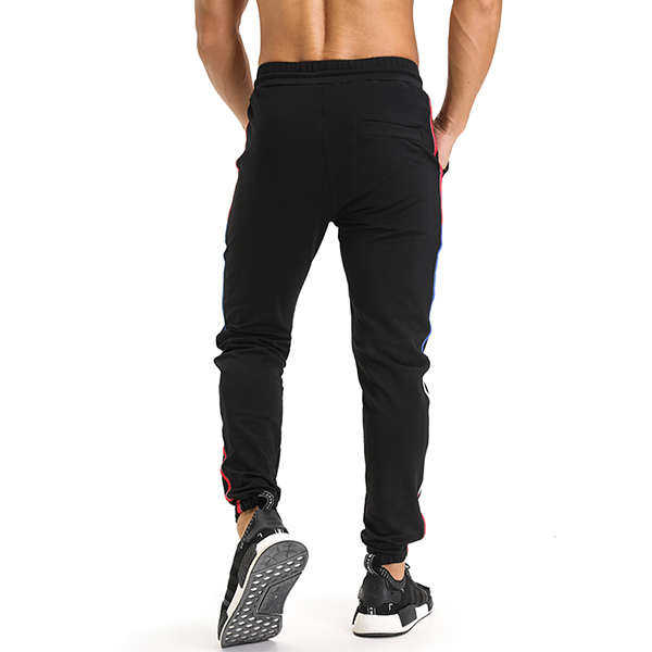 Mens Spring Autumn Sports Fitness Trousers Feet Trousers Running Trousers Trendy Pants