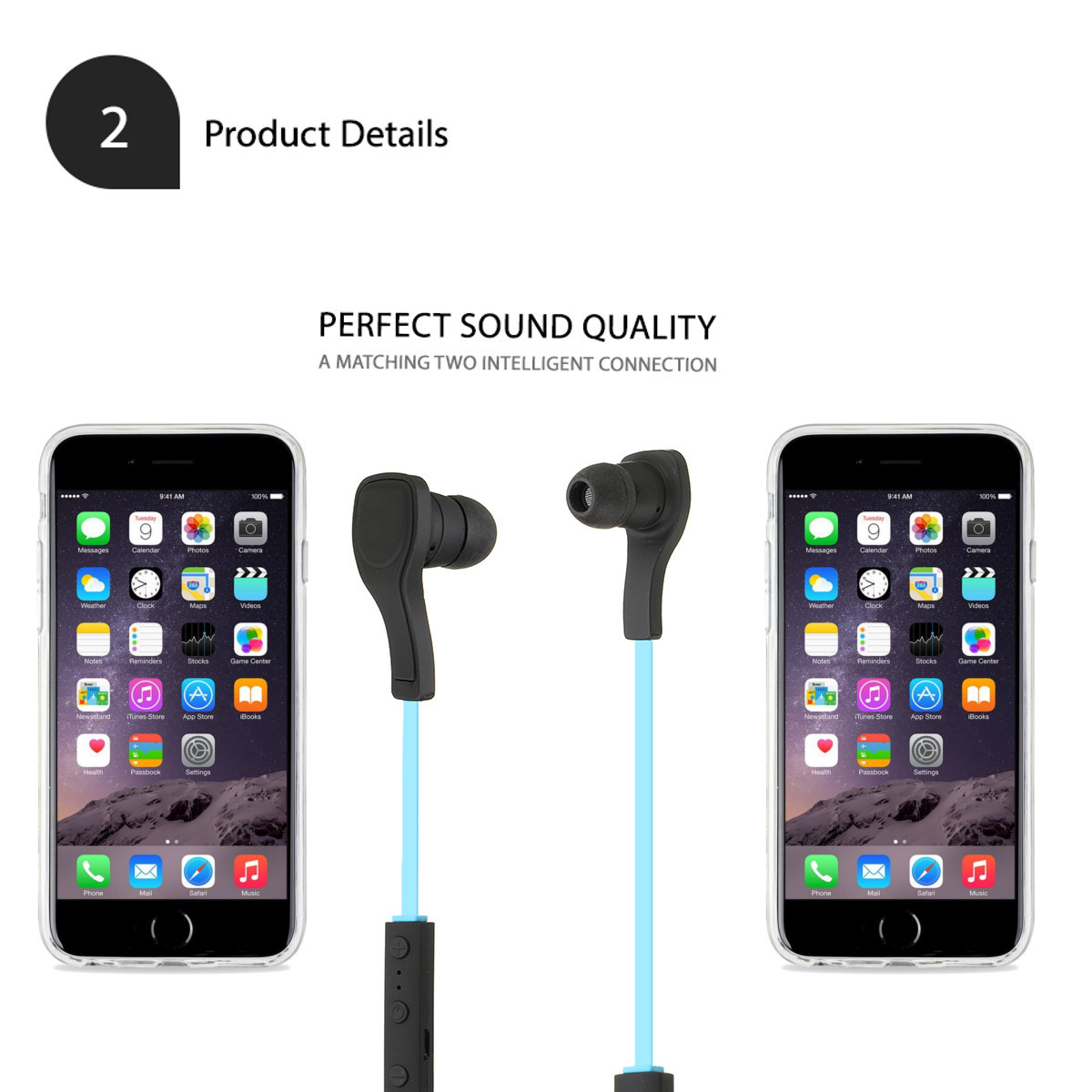 Noise Reduction Sport Stereo Wireless bluetooth Headset Headphone Earphone for Iphone Samsung Tablet