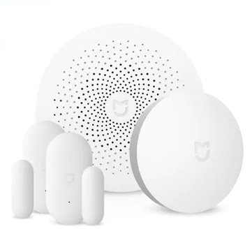 Original Xiaomi Mijia Upgrade Version Smart Home WiFi Remote Control Multifunctional Gateway Work with Smart Sensor Kit