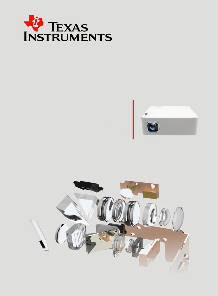 VIVIBIRGHT C80 Projector 2800 Lumens 1280x800p 1080P HD Home Theater