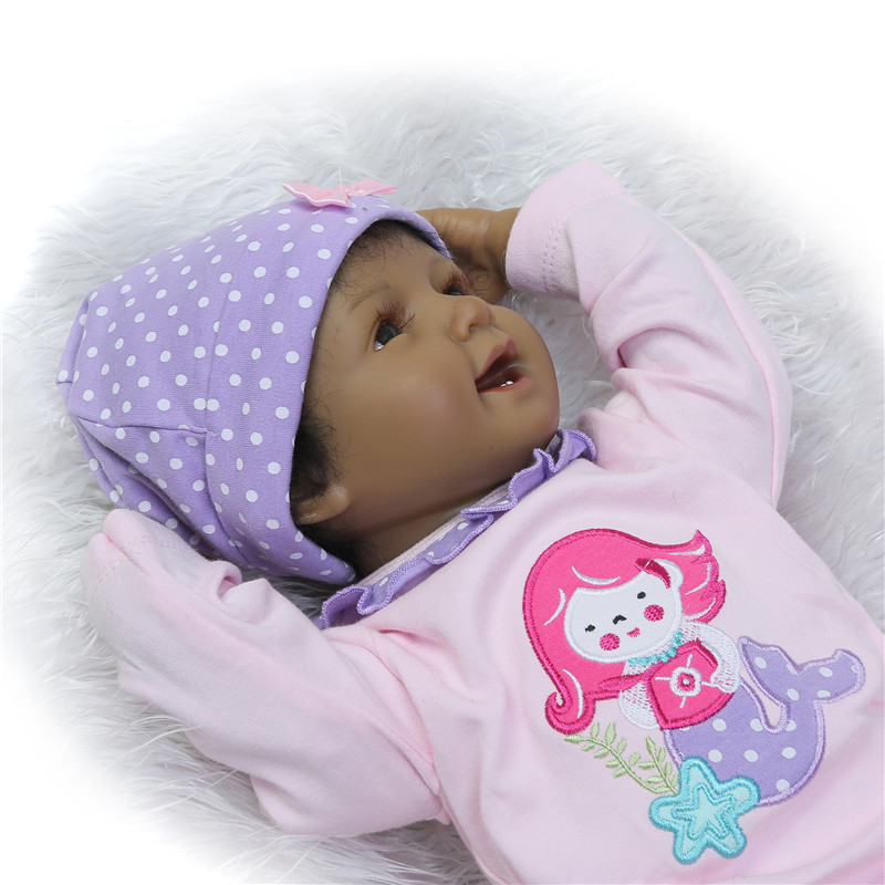 NPK COLLECTION 22'' Handicraft Cute Realistic Reborn Newborn Baby Dolls Toys