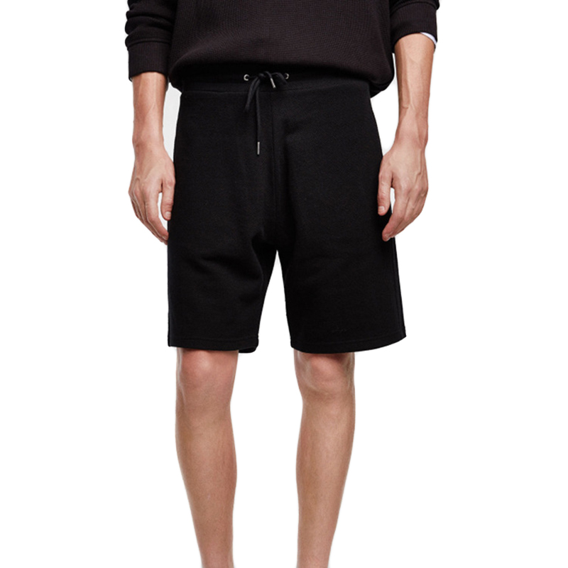 Mens Cotton Mesh Moisture Wicking Casual Knee-Length Shorts