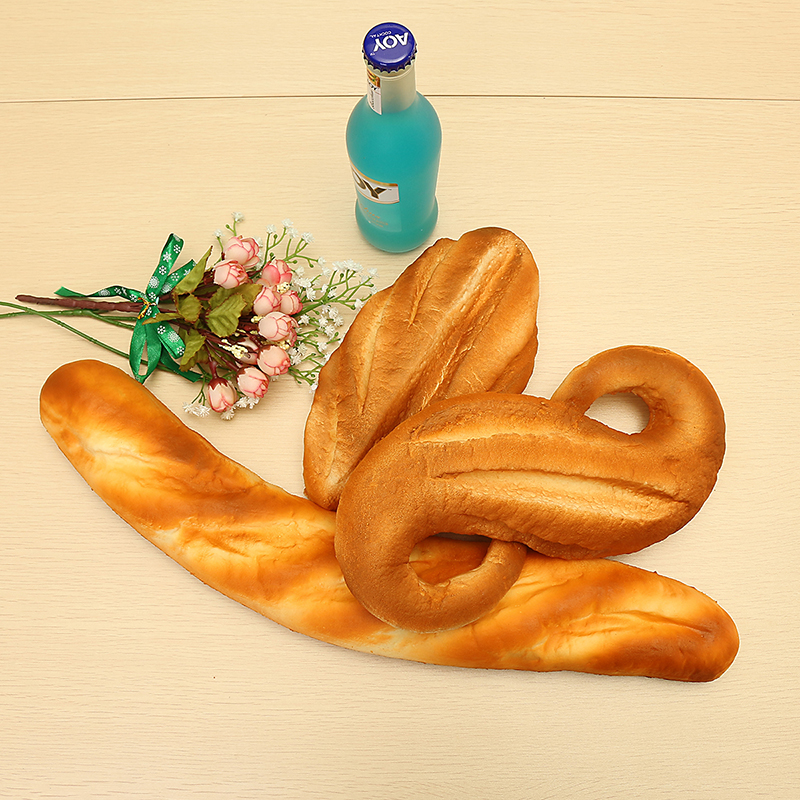 Squishy Jumbo Bread 24cm Slow Rising Soft Bakery Collection Gift Decor Toy