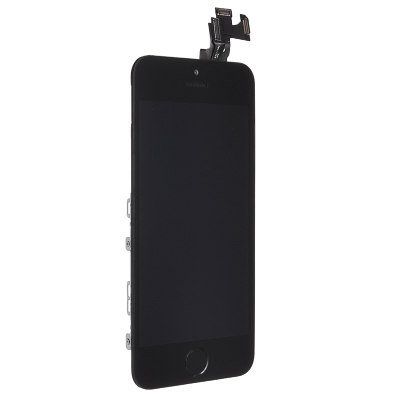 LCD Display+Touch Screen Digitizer+Front Camera+Home Button+Speaker Assembly Replacement For iPhone 5s