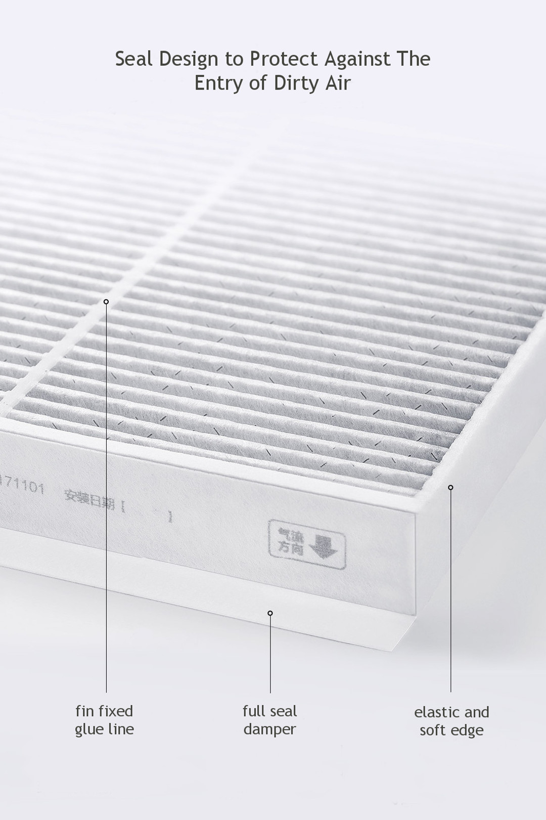 Xiaomi Zhimi Car Air Conditioning Filter Formaldehyde Purifier for VW/ Toyota/ Honda/ GM