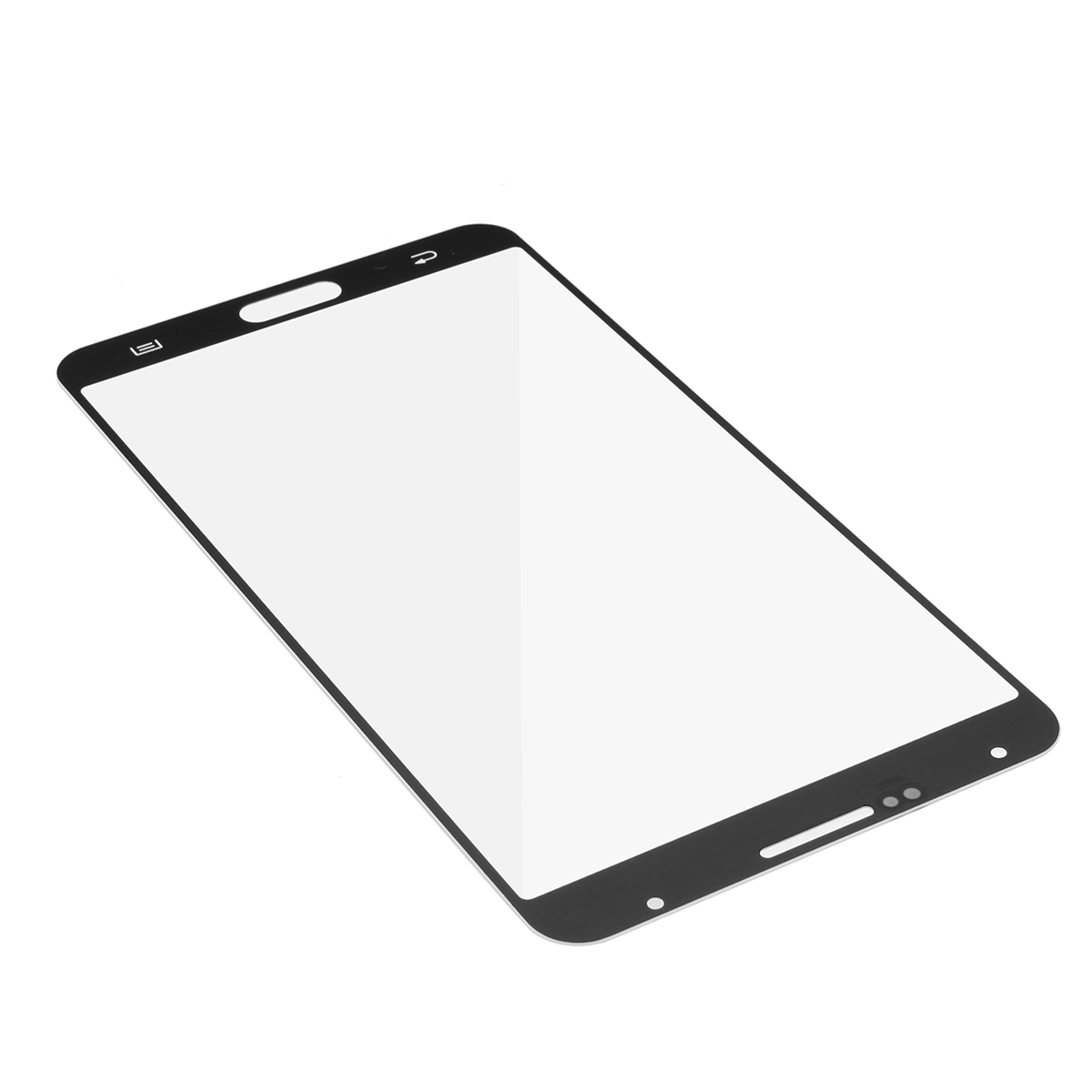 White Full Housing Frame Cover + Outer Glass Lens & Repair Tools for Samsung Galaxy Note 3 N900