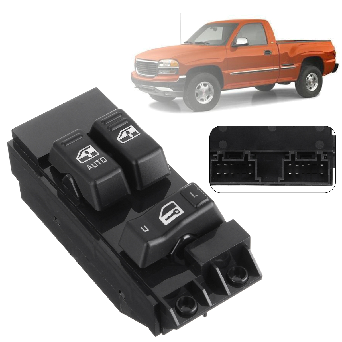 Front Left Driver Power Master Window Switch For Chevy Chevrolet Silverado 00-02