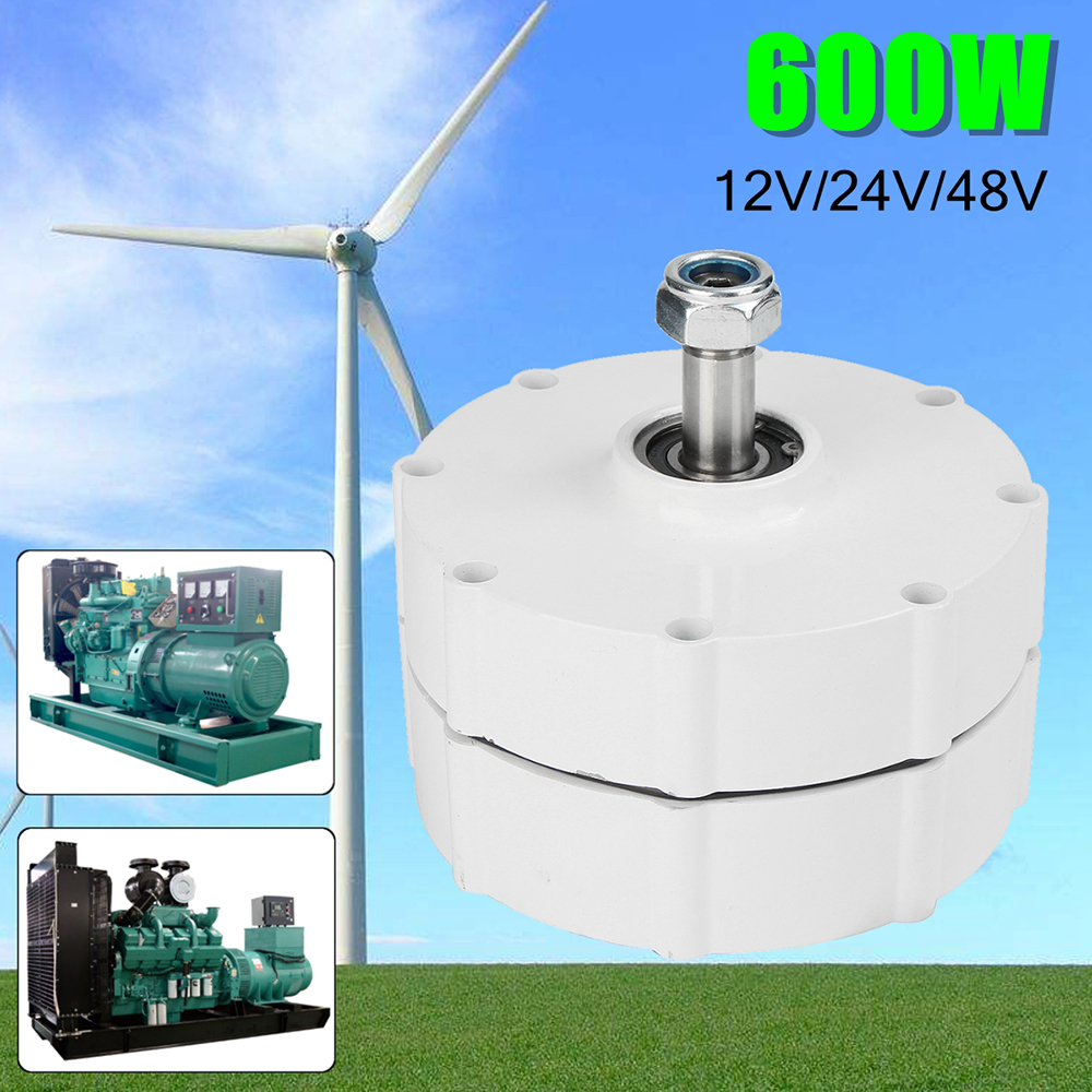800r/m 600W 12V 24V 48V Permanent Magnet Generator AC Alternator Wind Turbine Windmill Permanent