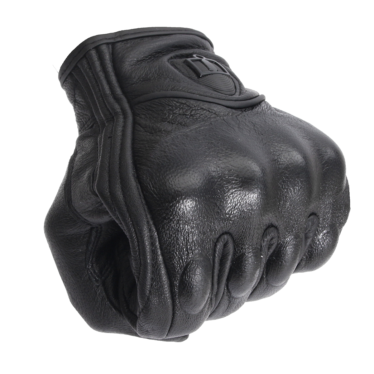 Outdoor Leather Gloves Motorcycle Bicycle Protective Armor