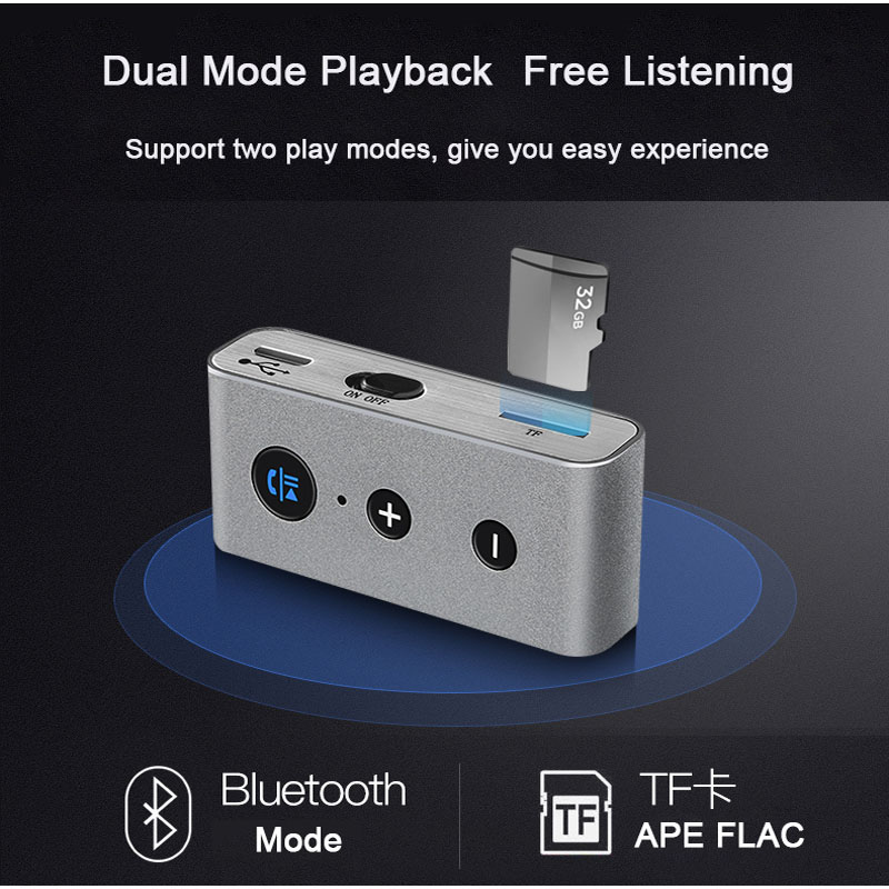 Bakeey BT710 3.5MM Stereo Music Aux Audio Car Kit Handsfree Wireless bluetooth Receiver Adapter