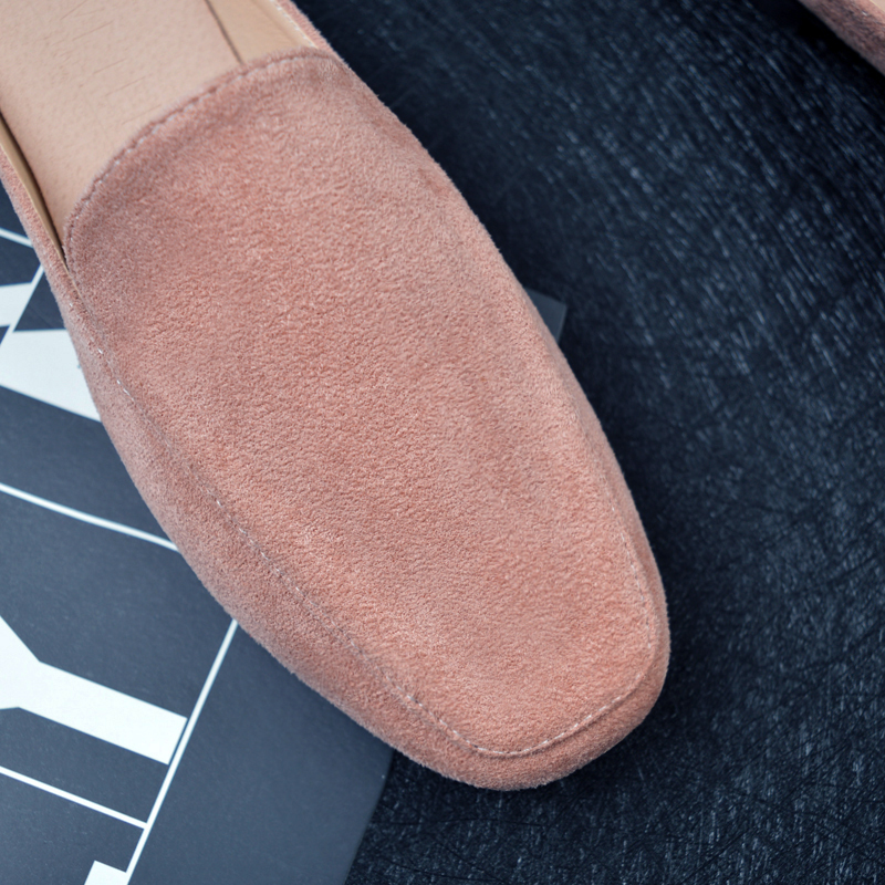 Large Size Pure Color Lightweight Casual Flats Loafers