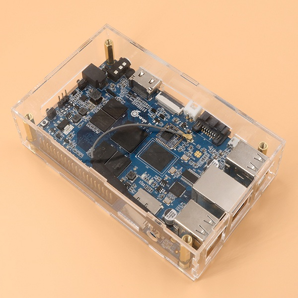 Transparent Protective Case For Orange Pi Plus 2