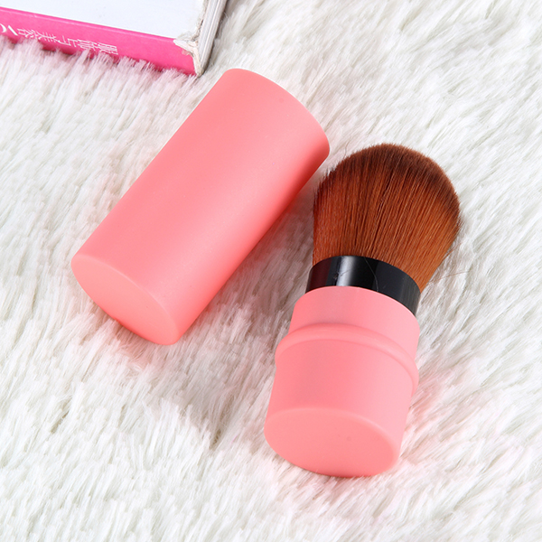 8 Colors Stretch Makeup Brush Foundation Face Powder Cosmetic Blush Brushes