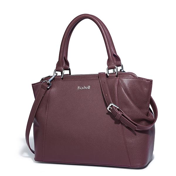 Kadell Elegant Lady Handbag Pure Color Business High Range Doctor Bag