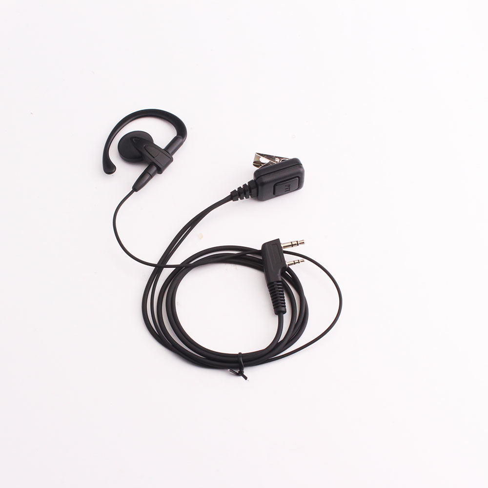 Earphone Big PTT Button TYT Baofeng UV5R 888S For Kenwood 998 K Connector Earphone