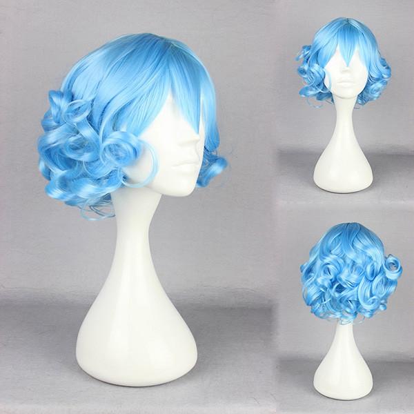 Dreamlike Cosplay Costume Synthetic Hair Wig Heat-Friendly Girl Cartoon Character Fairy