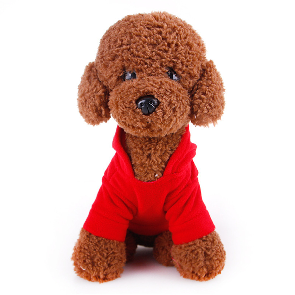 Cute Pet Dog Cat Christmas Coat Clothes Jacket Costume Winter Warmer Apparel