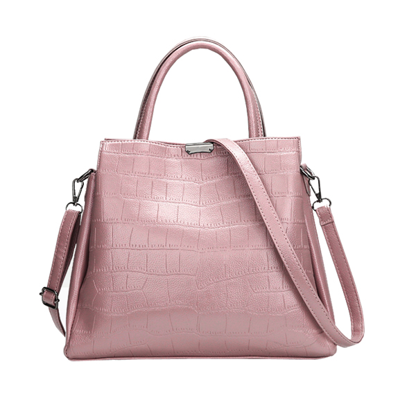 Multi Pockets Women Pu Leather Handbag Casual Crossbody Bag Tote with Purse