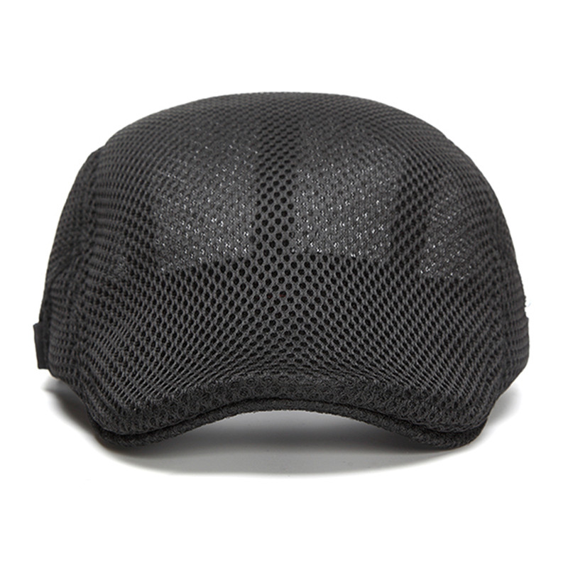 Mens Leisure Beret Hat Visor Newsboy Cabbie Flat Cap
