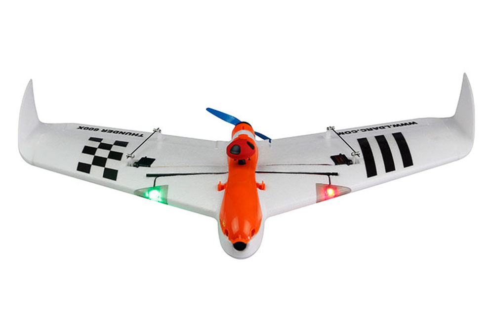 Kingkong/LDARC THUNDER 600X 656mm Wingspan EPO FPV RC Airplane Kit - Photo: 2